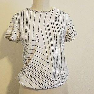 Dolan Left Coast Anthropologie Striped Top